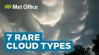 7 Rare clouds types | Amazing Weather