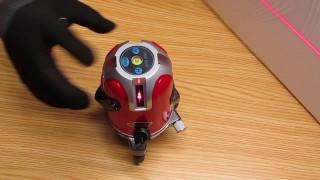 Automatic laser level Lairui, 5 lines, 6 points.