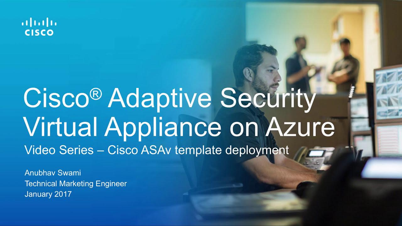 Cisco ASAv Template Deployment in Azure
