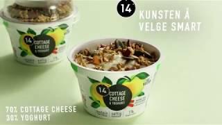 14 - Cottage cheese & yoghurt med granola