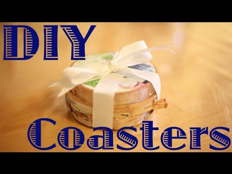 Holiday How-To | DIY Photo Coasters