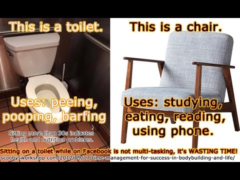 toilets and health - bodybuilding Q&A