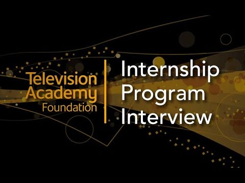 Televison Academy Foundation Internship Program Interview: Digital Entertainment