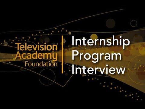 Televison Academy Foundation Internship Program Interview: Digital Entertainment