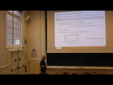 Daniel Augot  - Algorithmes de hash   novembre 2016