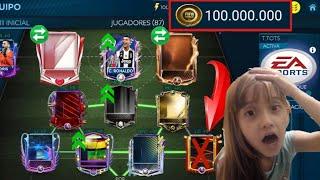 !!GASTAMOS 100 MILLONES DE MONEDAS EN FICHAJES!!(QUÍMICA A TOPE)JUGAMOS CVC PARTE 3 FIFA MOBILE 19