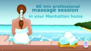 massage; Therapeutic Massage in the Comfort of Your Manhattan Home(Massage at home can be very enjoyable because it allows you to relax in a comfortable environment after your massage., 2009-11-06T02:42:28.000Z)
