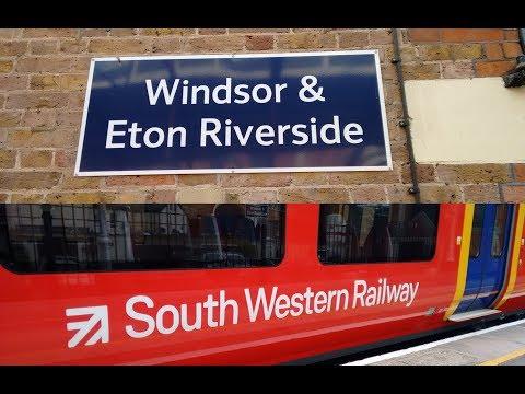 Full Journey on South Western Railway (Class 707) from Windsor & Eton Riverside to London Waterloo