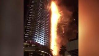 Очевидцы пожара в Дубае: огонь за считаные минуты охватил 20 этажей