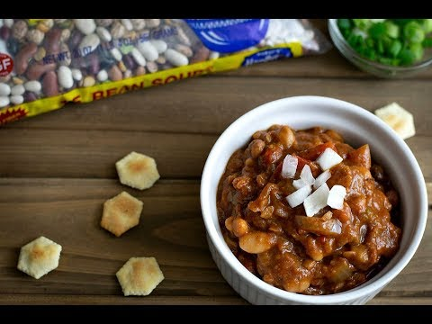 The BEST Vegan 15 Bean Crockpot Chili EVER