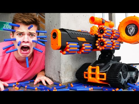Nerf War: Tank Battle 2