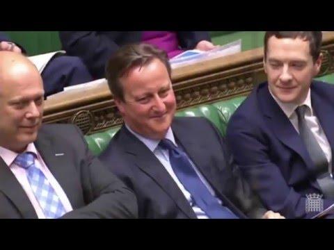 "Dodgy Dave / MP Dennis Skinner Calls PM Cameron ""Dodgy Dave"""