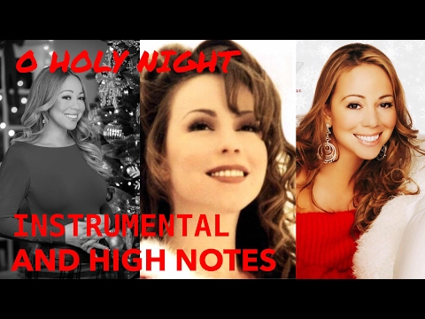 Mariah Carey  O Holy Night Instrumental With Hook & Whistle