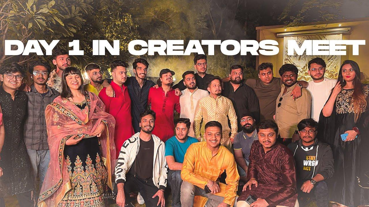 Download Day 1 at Creators Meet 2k21