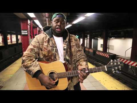 Hollywood Anderson || My Bestfriend (Live from the Delancey & Essex Street Train Station)