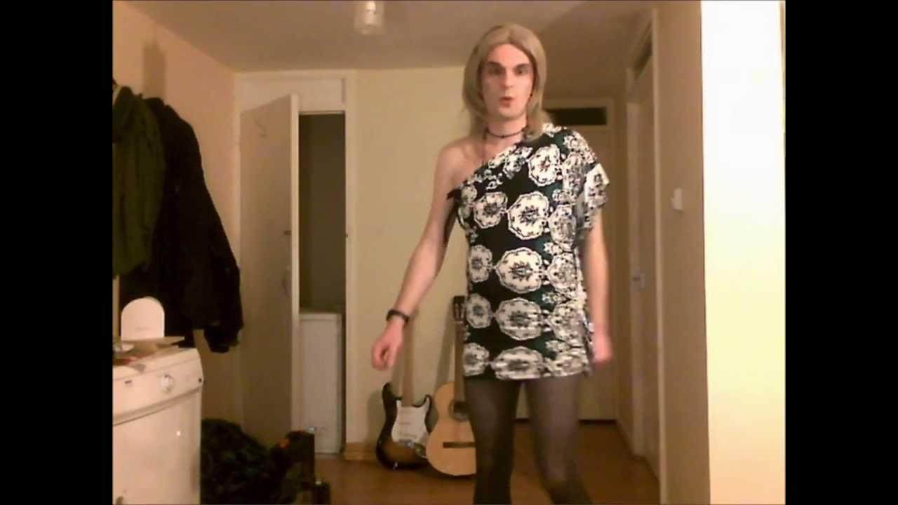Hetrosexual Transvestite dressing up