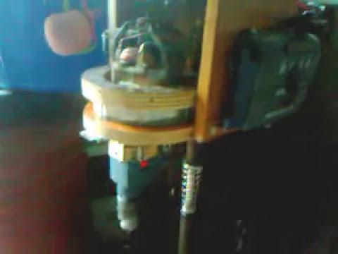 κατασκευη κολωνατο δραπανο απο μοτερ ηλεκτρικης σκουπας