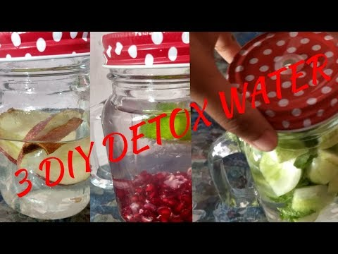 3 DIY DETOX WATER | BEST DRINK FOR BODY AND SKIN | PART 1