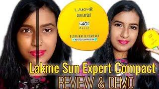 Lakme Sun Expert Sunscreen Compact || Honest Review & Demo