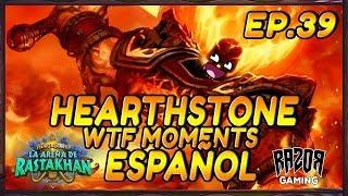 MEJORES MOMENTOS HEARTHSTONE ESPAÑOL | Episodio 39