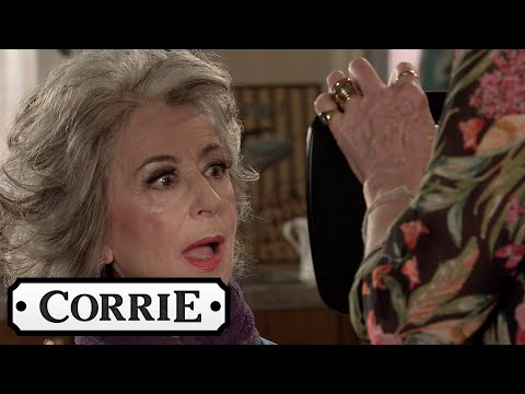 Claudia Gives Evelyn A Make Over | Coronation Street