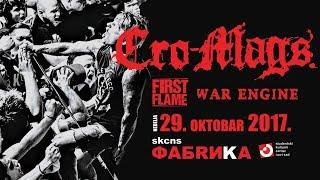 Cro-Mags - Crush the Demoniac (Novi Sad, 29.10.2017.)