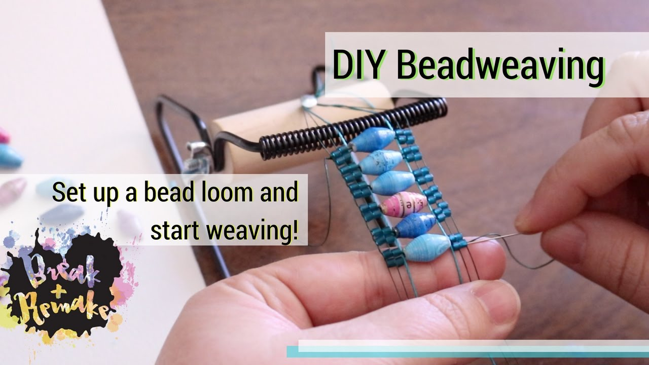 Diy Bead Weaving How To Set Up A Bead Loom And Start Weaving