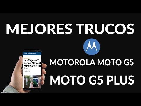 Los Mejores Trucos para el Motorola Moto G5 y Moto G5 Plus