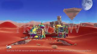 Super Mario Odyssey (Tostarena) - 4K 60FPS Looping Background by Henriko Magnifico