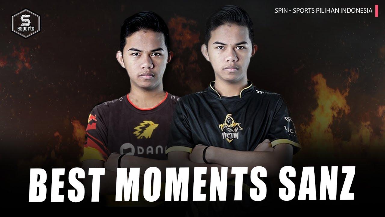 Top Plays Victim Sanz! Goodbye Victim & Welcome Onic Sanz?! |  SPIN Esports