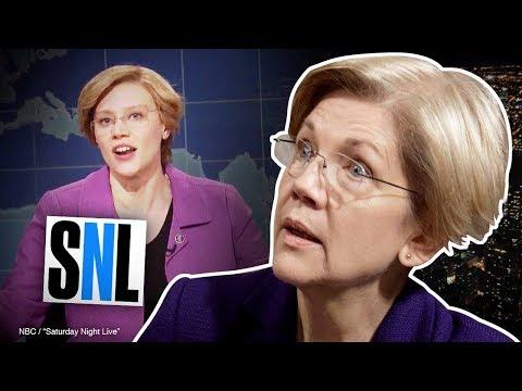 "SNL spoofs Elizabeth Warren's ""unlikeable"" image | Amanda Head"