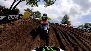 GoPro: Adam Cianciarulo Moto 1 - 2019 RedBud Mx National - Lucas Oil Pro Motocross Championship