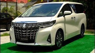 Toyota Motors Philippines refreshed the New Toyota Alphard 2018