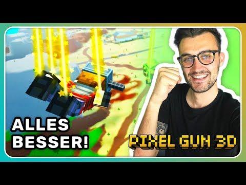 Update Hype! Alles wurde besser! Mobile Battle Royale! | Pixel Gun 3D [Deutsch]
