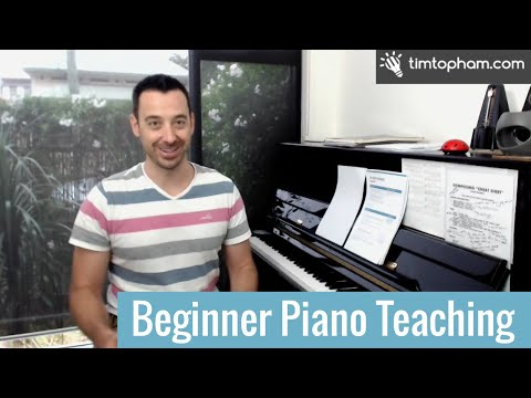 Beginner Piano Lesson Plan 1 - Creative Beginner Teaching [Part 1 Of 2]