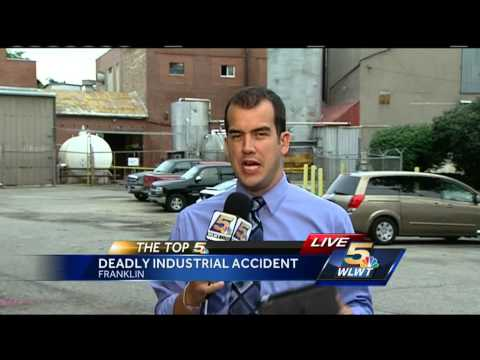 Worker killed in industrial accident