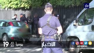 انفجار دراجة نارية أمام القنصلية العسكرية الأردنية في باريس دون وقوع إصابات - (4-10-2017)