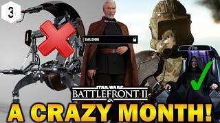 A CRAZY MONTH! Star Wars Battlefront 2