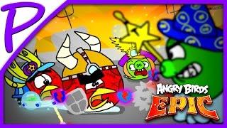 Энгри Бердс: Эпик #8. Игра как МУЛЬТИК для ДЕТЕЙ (Angry Birds) #РАЗВЛЕКАЙКА