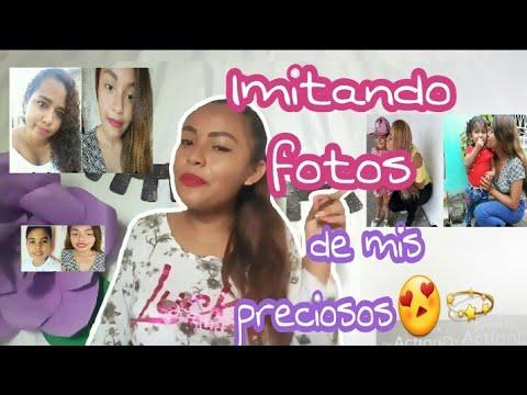 Imitando fotos de mis preciosos💕 / Teresa Meléndez