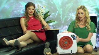 Sichler Haushaltsgeräte Mobiler Akku-Verdunstungs-Luftkühler LW-350 bei PEARL TV