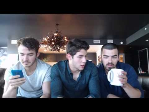 Jonas Brothers Live Chat - June 17, 2013