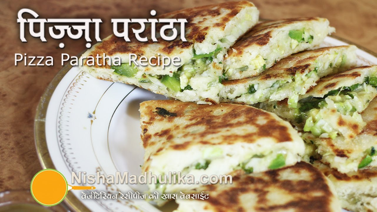 Pizza paratha recipes cheese paratha recipe youtube forumfinder Image collections