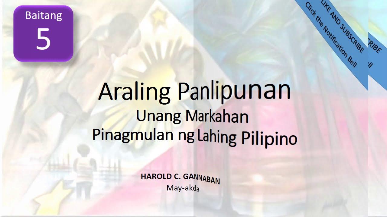Download Paraan ng Pamumuhay ng mga Sinaunang Pilipino sa Panahong Pre kolonyal