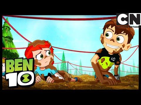 Corriendo En Lodo | Ben 10 en Español Latino | Cartoon Network from YouTube · Duration:  3 minutes 28 seconds