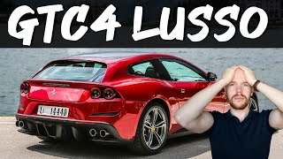 The Ferrari Gtc4 Lusso Will Destroy Your Wealth Depreciation And Buying Guide Youtube