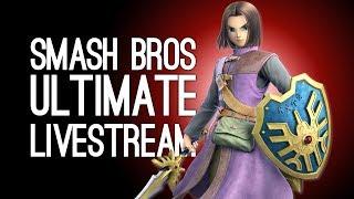 SMASH BROS CO-OP LIVESTREAM: Ellen & Luke Battle Online in Smash Bros Ultimate Online LIVE @Server