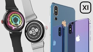 Round Apple Watch Series 4 (2018)  Leaked, Rumors & Concept Circle Apple Watch Design