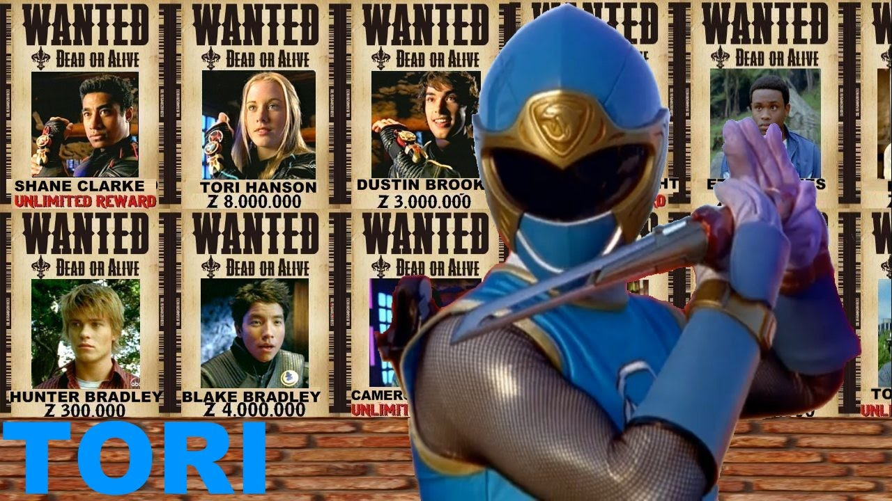Tori Tribute (Power Rangers Ninja Storm) - YouTube
