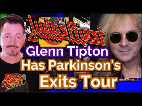 Judas Priest guitarist Glenn Tipton Has Parkinson's Disease -Exits Tour